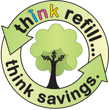Think Refill - Save money and the environment